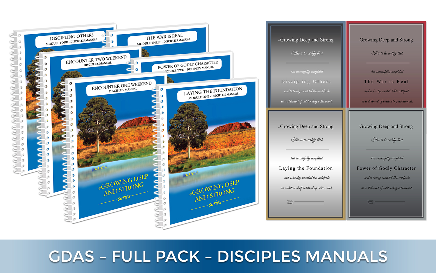 Disciples Full Course Pack (GDAS-DFCP)